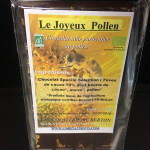 Chocolat Joyeux Pollen