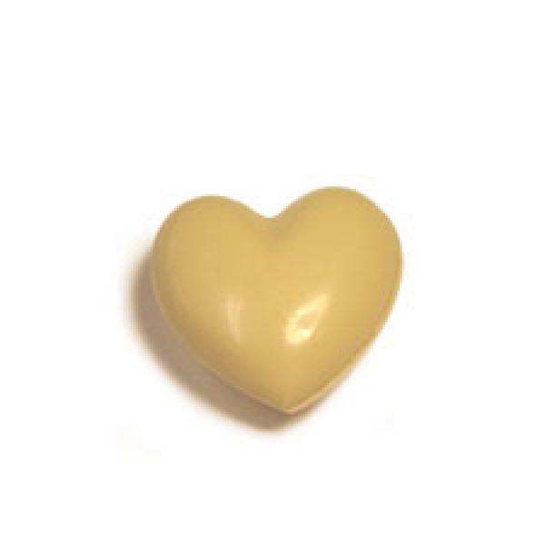 Coeur à croquer à deux chocolat blanc