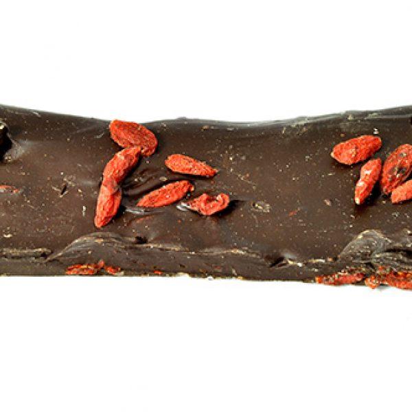 chocolat noir au Goji