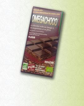 Omegachoco & nos tablettes bio innovantes