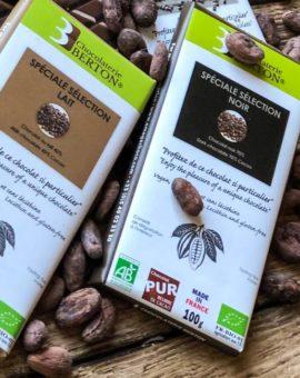 Grands Crus Chocolats Spéciales Séléctions bio