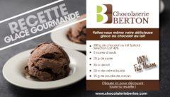 recette chocolat au lait 40% de Cacao